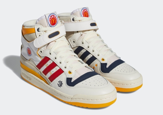 "Where To Buy The Eric Emanuel x adidas Forum '84 Hi ""McDonald's All-American"""