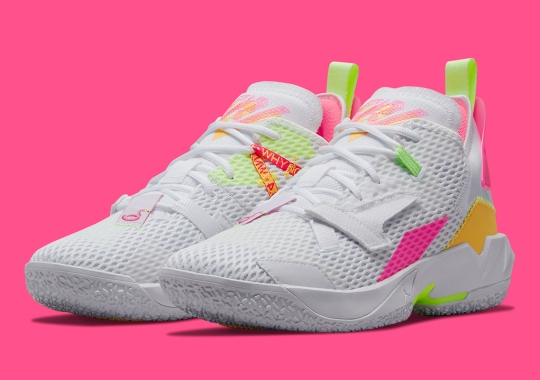 Russell Westbrook Could Be Wearing This Summer-Ready Jordan Why Not Zer0.4 In The Playoffs