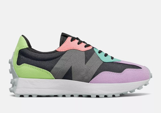The New Balance 327 Goes Over The Top With Spring Pastels