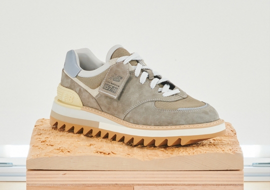 The New Balance Tokyo Design Studio Reinvents The 574 With Ripple Soles