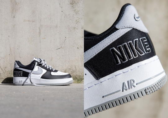The Nike Air Force 1 Pays Homage To The Terminator's Big Lettering