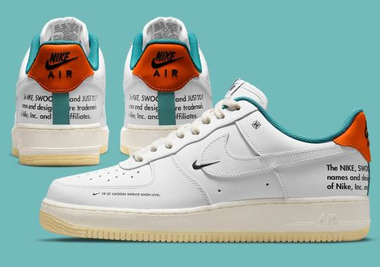 More Technical Drawing Specs Appear On The Nike Air Force 1 Low