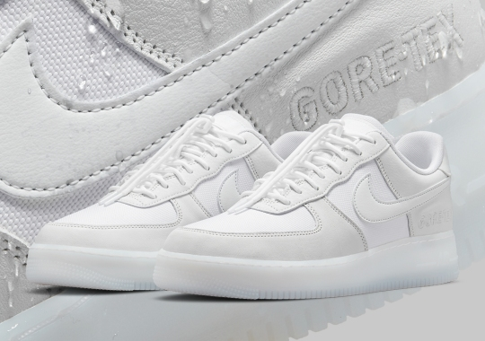 Nike Adds Lace Toggles To The Air Force 1 GORE-TEX