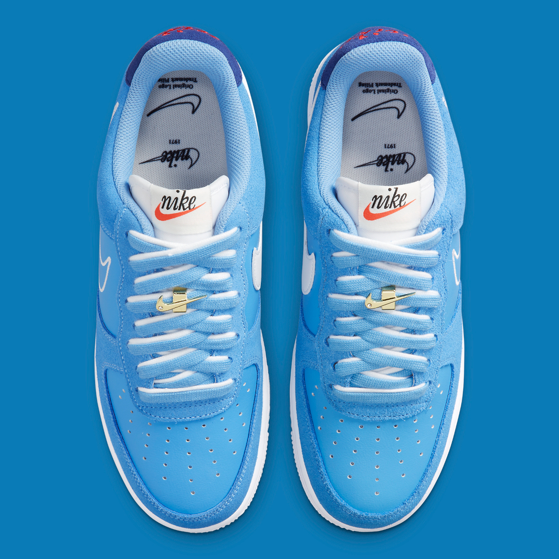 Nike Air Force 1 Low University Blue DB3597-400   SneakerNews.com