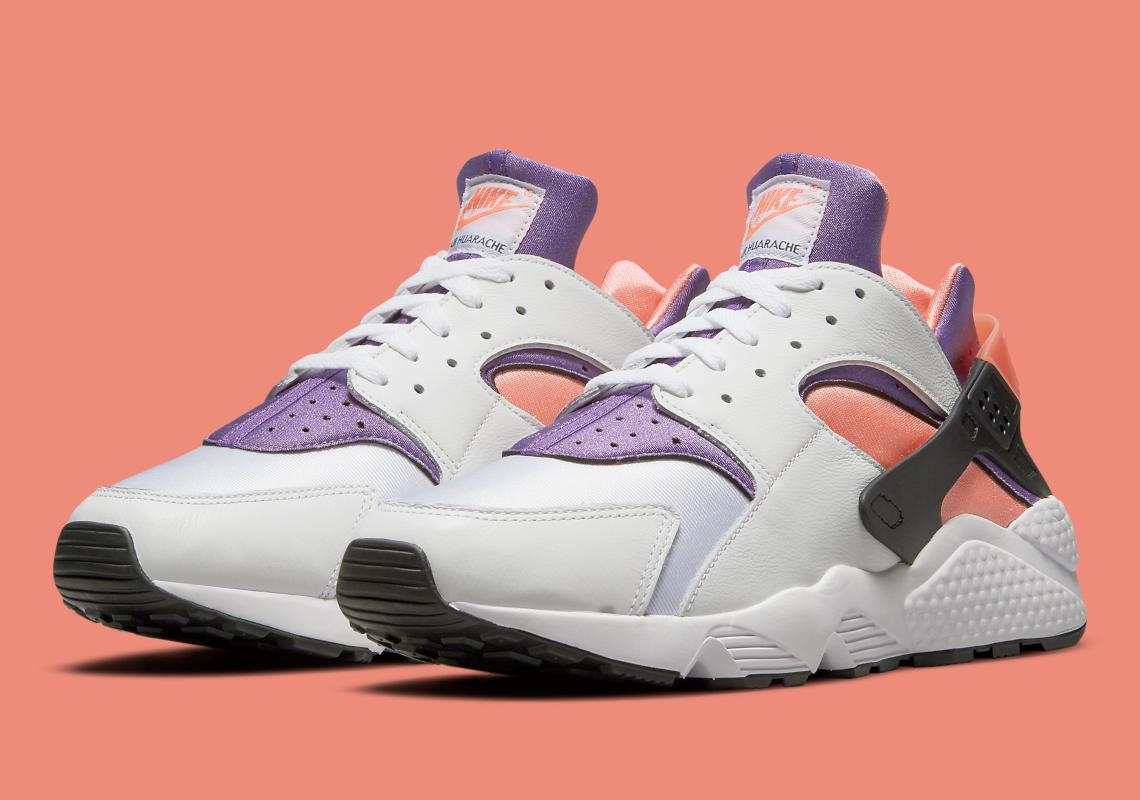 Nike Air Huarache Bright Mango DD1068-101 | SneakerNews.com