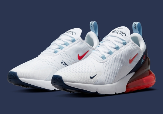 The Nike Air Max 270 Reprises Another USA-Friendly Colorway