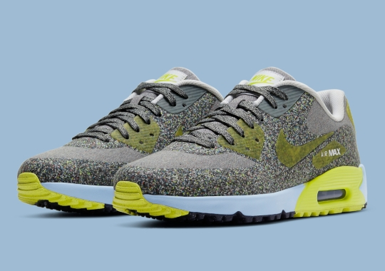 This Nike Air Max 90 Golf Shoe Is Completely Covered In Grind Rubber