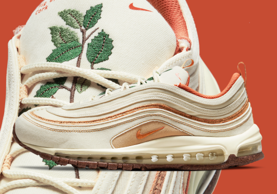"""Nike's Plant-Based Pack Welcomes An Air Max 97 In """"Coconut Milk"""""""