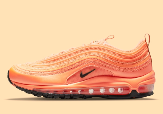 The Nike Air Max 97 Appears In Bold Orange