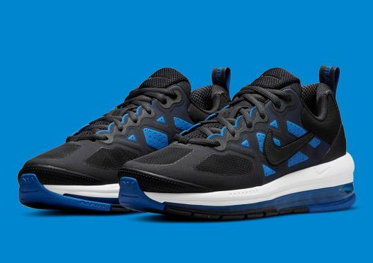 A Sensible Black And Royal Appear On The Nike Air Max Genome