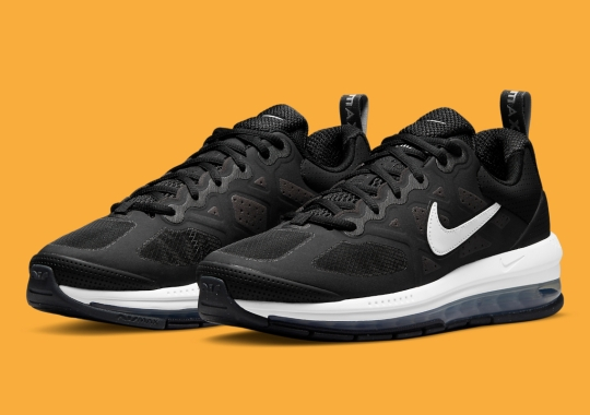 The Nike Air Max Genome Receives A Sharp And Simple Black And White