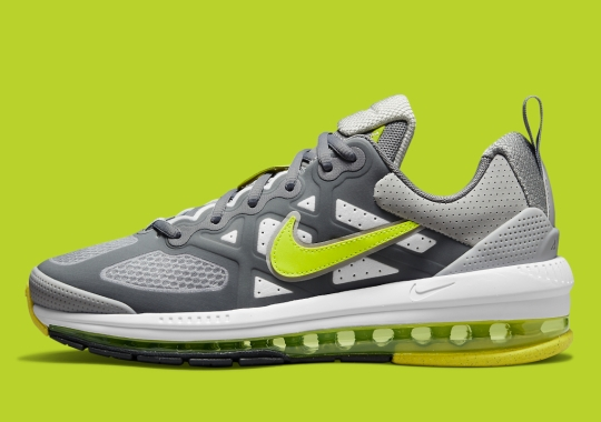 """The Nike Air Max Genome Appears With """"Volt""""-Colored Airbags"""