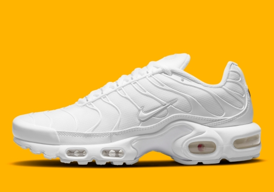 Nothing Quite Says Summer Like A Triple-White Nike Air Max Plus