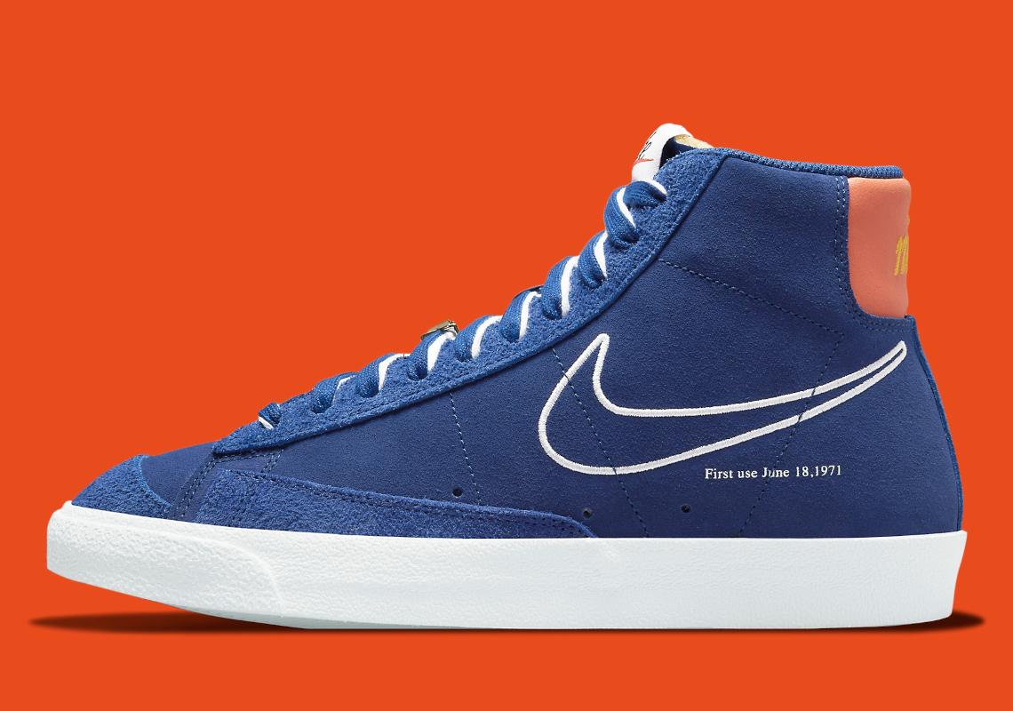Nike Blazer Mid '77 First Use Royal Blue DC3433-400   SneakerNews.com