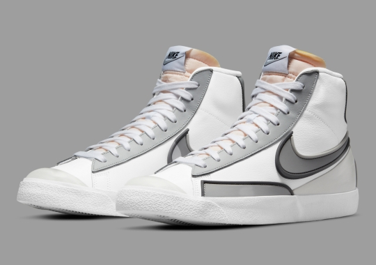 The Nike Blazer Mid Infinite Arrives In A Mix Of Grey Tones