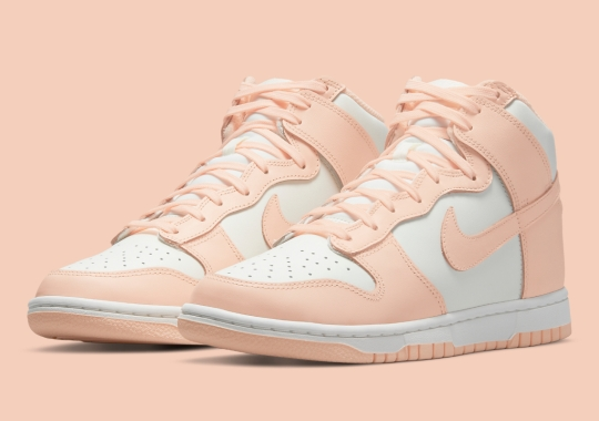 "Nike Dunk High ""Crimson Tint"" Coming Soon For Women"
