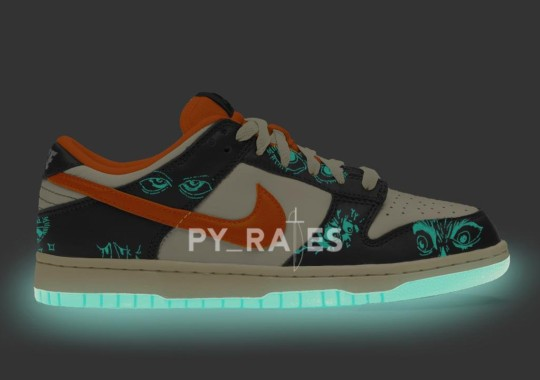 """The Nike Dunk Low """"Halloween"""" 2021 To Feature Glow-In-The-Dark Soles"""