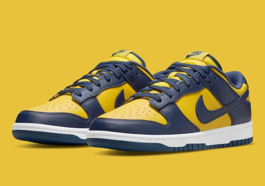 """Where To Buy The Nike Dunk Low """"Michigan"""""""