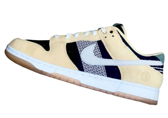 This Upcoming Nike Dunk Low Promotes Peace