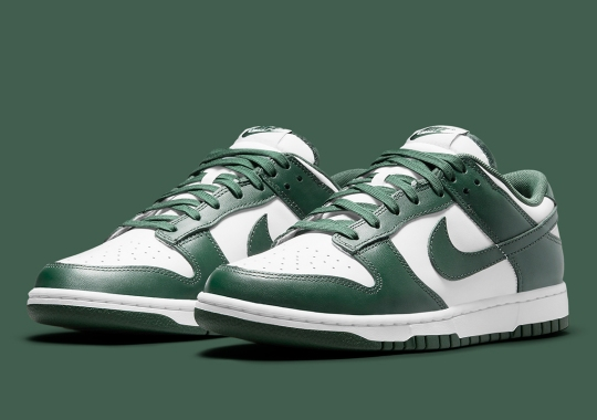 """Where To Buy The Nike Dunk Low """"Team Green"""""""