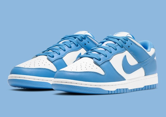 "Official Images Of The Nike Dunk Low Retro ""University Blue"""