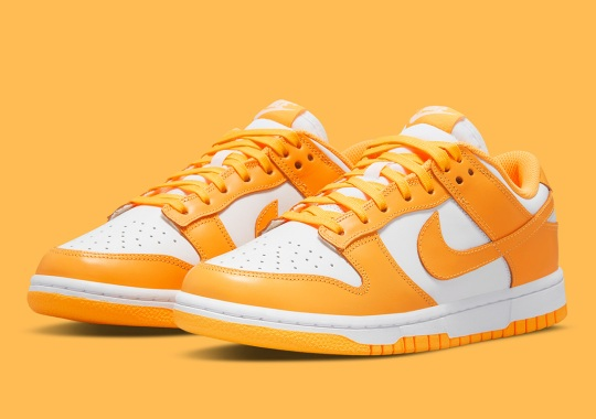 """Laser Orange"" Helms This Upcoming Women's Nike Dunk Low"