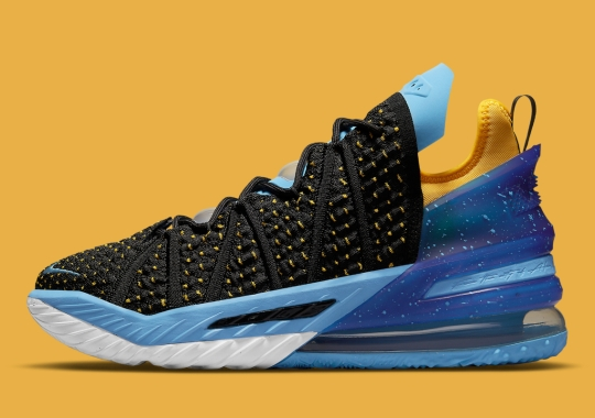 Minneapolis And L.A. Collide On This Nike LeBron 18