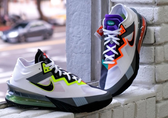 """LeBron James' Air Max 95 Devotion Appears In The Nike LeBron 18 Low """"Greedy"""""""