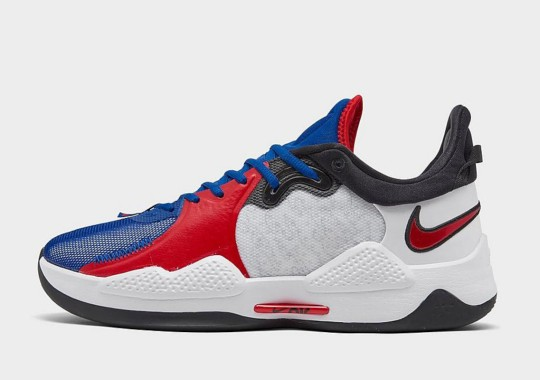 The Nike PG 5 Appears In Classic Los Angeles Clippers Colors As Playoffs Near