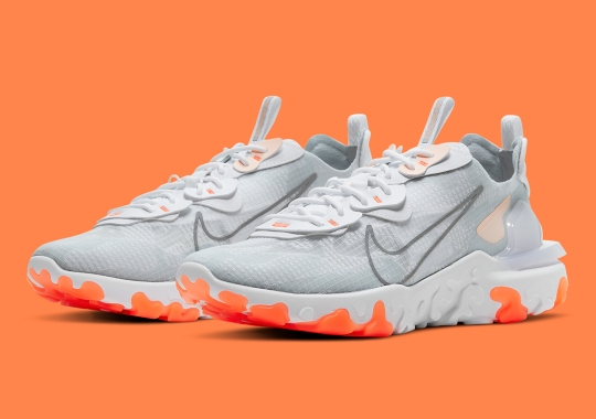The Nike React Vision Returns With Orange And Crimson Tint Accents