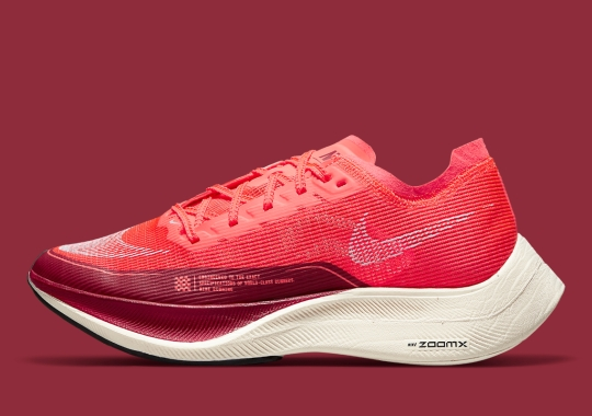 The Nike ZoomX Vaporfly NEXT% 2 Is Coming Soon In A Racy Red