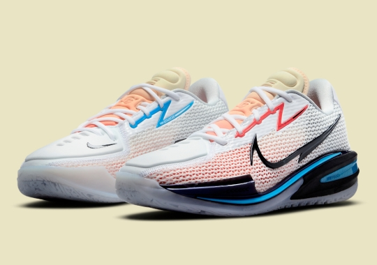 Nike Basketball's Zoom G.T. Cut To Launch In New White, Blue And Red