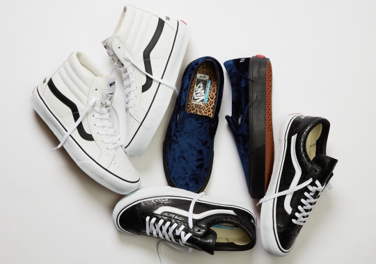Noon Goons Upgrades Vault By Vans Classics With Luxurious Materials
