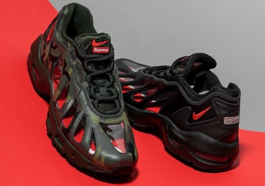Supreme's Clear Nike Air Max 96 Comes In Camo