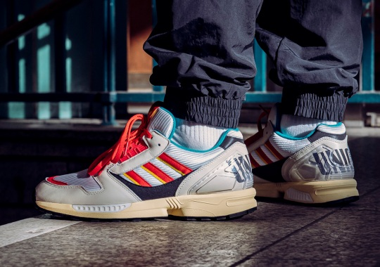 Union Berlin x adidas ZX 8000 Is Limited To Just 1,966 Pairs