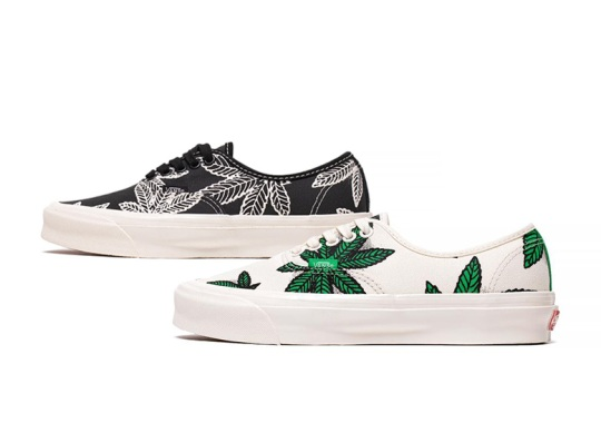 """Vans Joins The 420 Madness With A Set Of OG Authentic LX """"Sweet Leaf"""" Drops"""