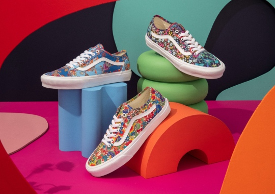 Vans Brings Liberty London's Century-Old Fabric Expertise To The Old Skool