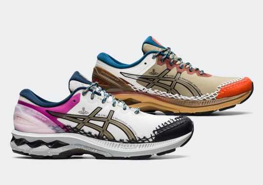 Vivienne Westwood Brings Net Overlays And Durable Ripstop Fabrics To The ASICS GEL-Kayano 27