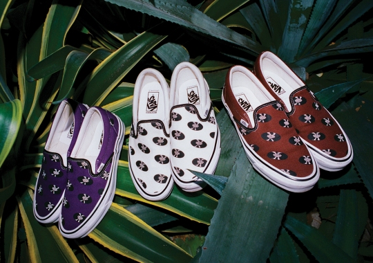 Wacko Maria And Vans Add Their Vinyl Record Print To The OG Slip-On LX