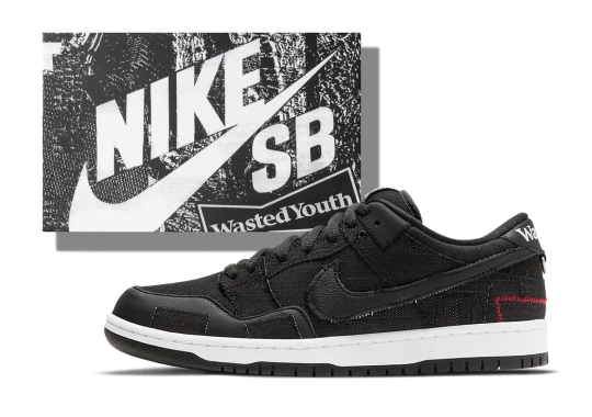 Verdy's Special Box Release For The Wasted Youth x Nike SB Dunk Low Drops Today