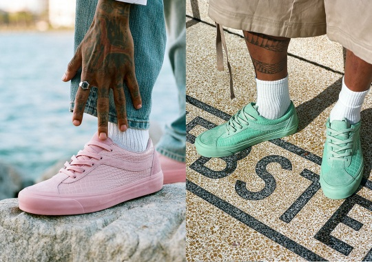 Luxury Retailer The Webster Envisions A More Premium Vault by Vans Bold Ni LX