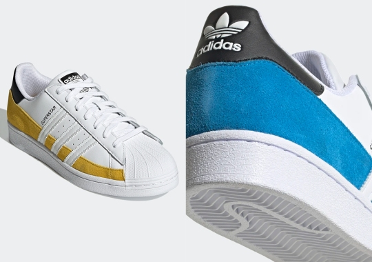 adidas Adds Suede Mudguards To The Superstar