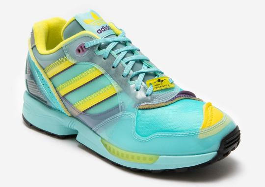 "adidas' Inside-Out ZX 6000 Returns In The Iconic ""Aqua"" Colorway"