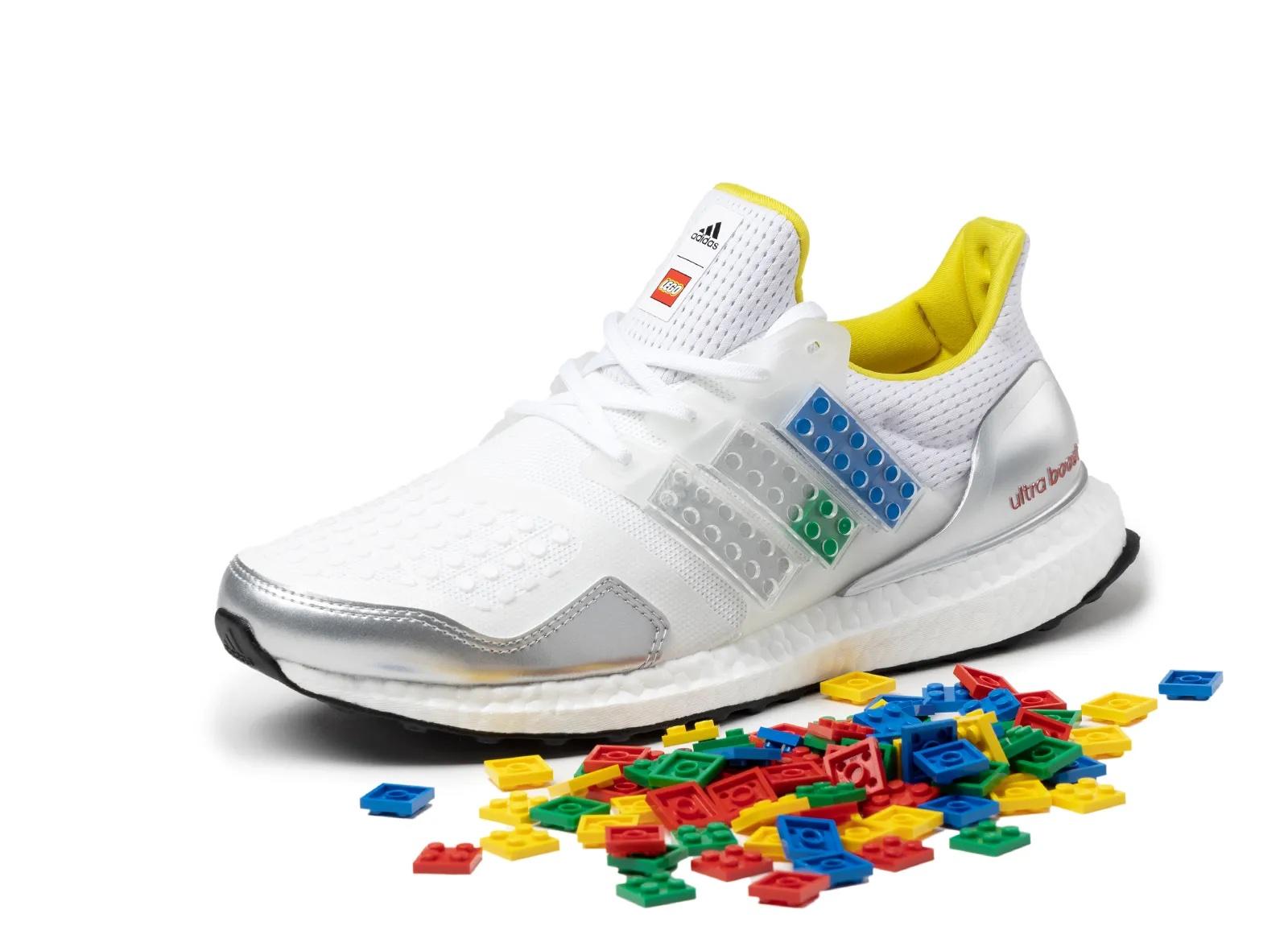LEGO adidas UltraBOOST 4.0 Shock Blue FY7690 | SneakerNews.com