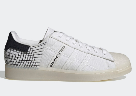 adidas Doubles Down On Sustainability With The Part-Recycled Superstar Primeblue