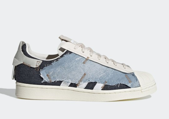 The adidas Superstar Workshop 1 Explores Structural Experiments With Denim