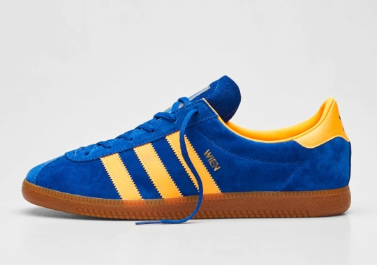 """adidas Continues Its '70s City Series With The Wien In Bold """"Ink"""""""