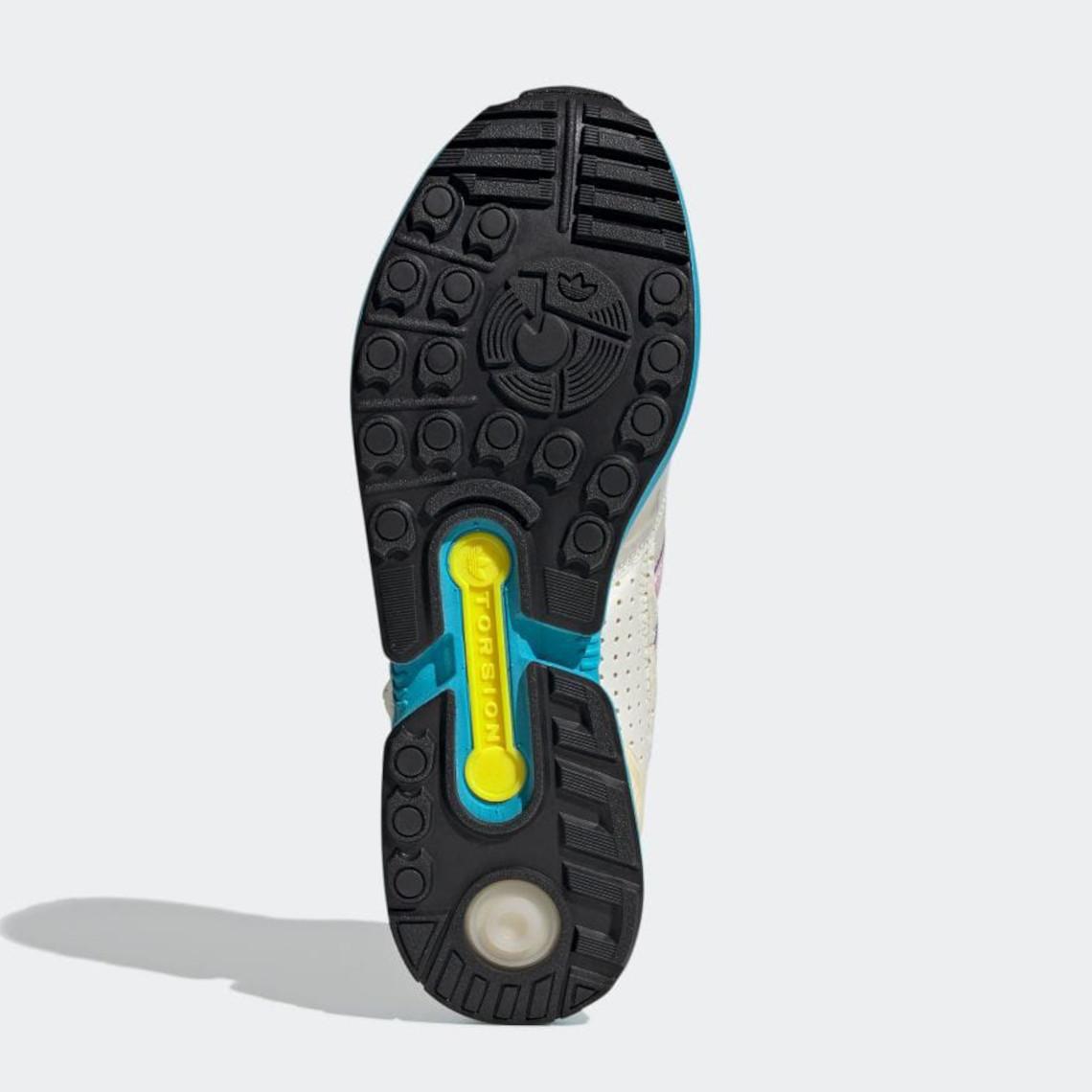 Que vaut les Adidas ZX0006 X-Ray Inside Out Aqua Cyan Pink