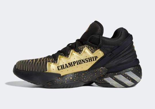 This Black/Gold adidas D.O.N. Issue 2 Has An NBA Championship In Mind