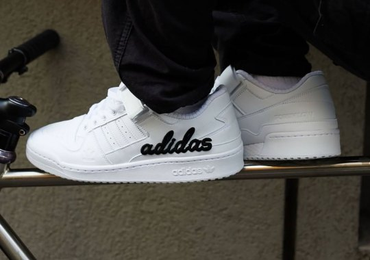 The atmos-Exclusive adidas Forum Low Is Unexpectedly Glow-In-The-Dark